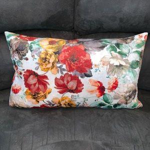 CALLISTO HOME (2) Floral Velvet Decorative Pillows